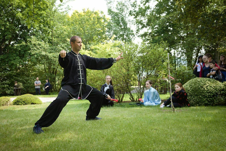 Ukázky v japonské zahradě