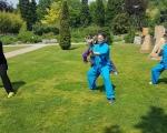 Cvičení v ornamentální zahradě