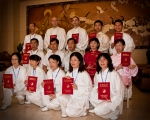 Udělení certifikátu trenér Tchaj-ťi, Wenxian, Henan, Čína 2009