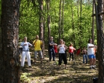 Čchi-kung v lese