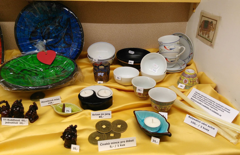 Keramika a svíčky